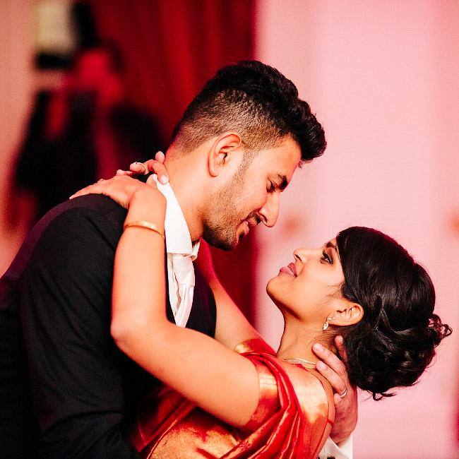 Nadesh und John – indische Hochzeit in der Redoute Bonn